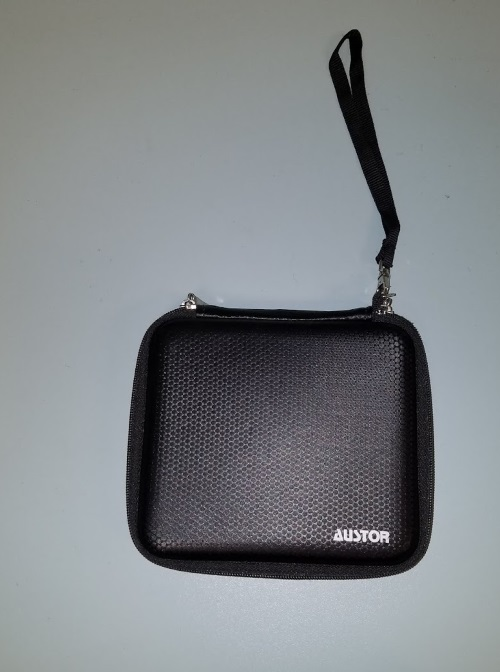 Austor 2DS Zippered Travel Game Carry Case Black For DS