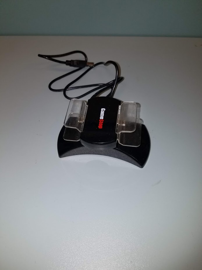 Gamestop 2X Charging Dock PL-6315 BB-6315 Controller For PS3 For PlayStation 3