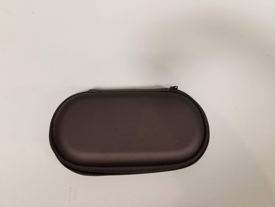 Black Travel Game Carry Case For Ps Vita