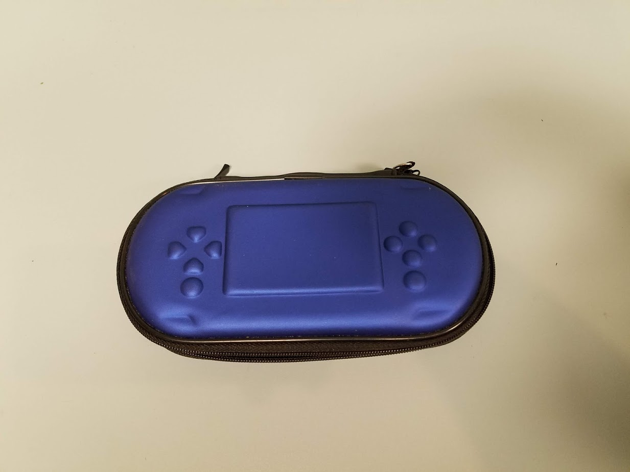 Blue Game Travel Carry Case For Ps Vita