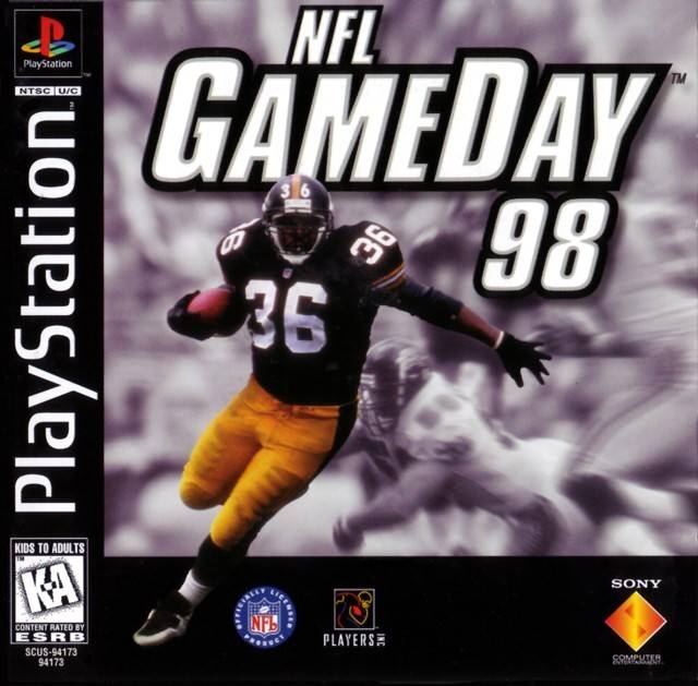 NFL GameDay 98 For PlayStation 1 PS1 Football