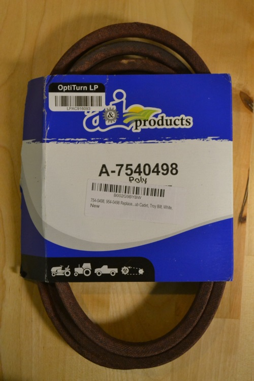 A&I Products Mtd/cub Cadet Belt Part No: A-B17540498