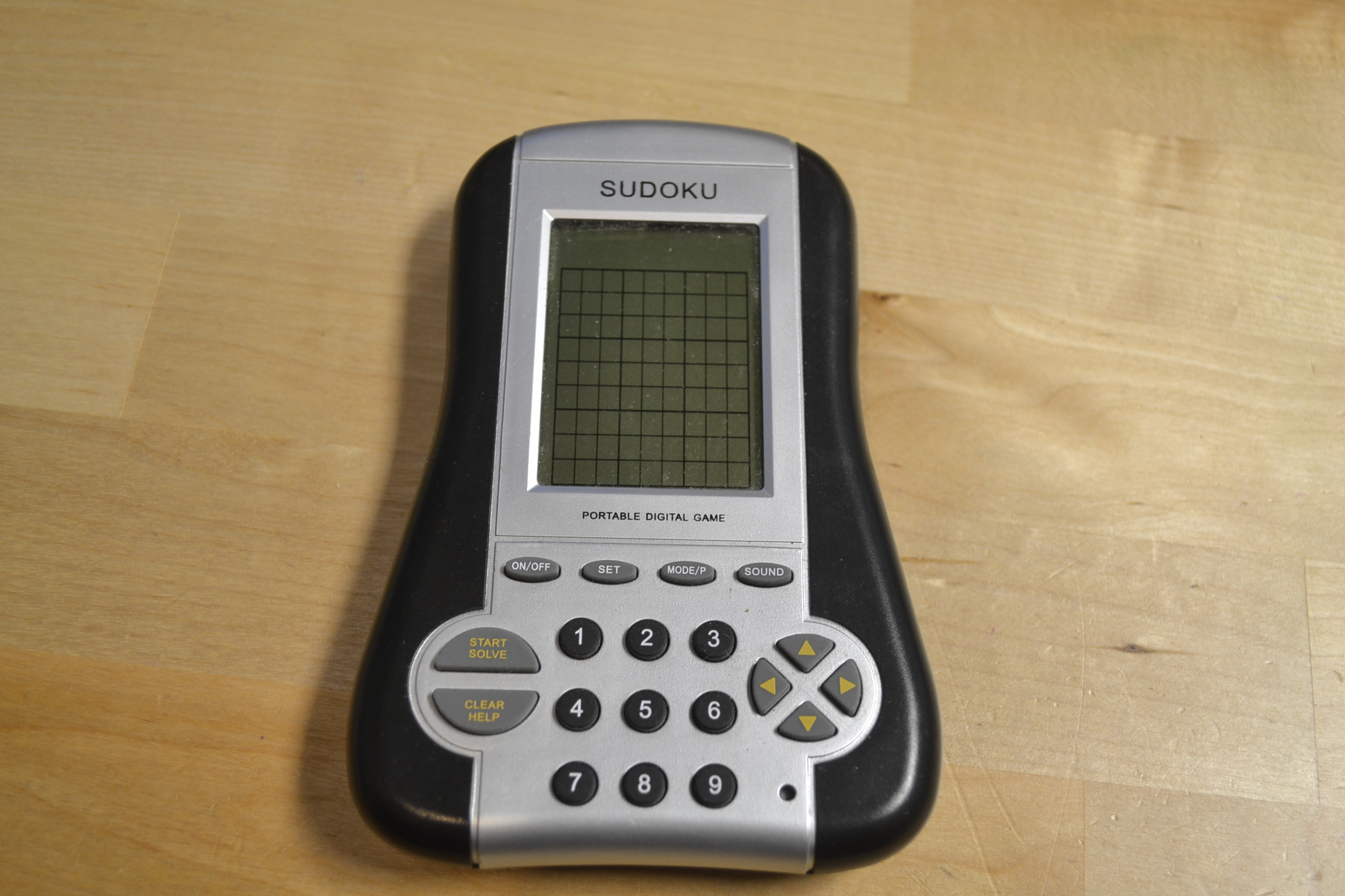Dracco Portable Digital Sudoku Game Toy