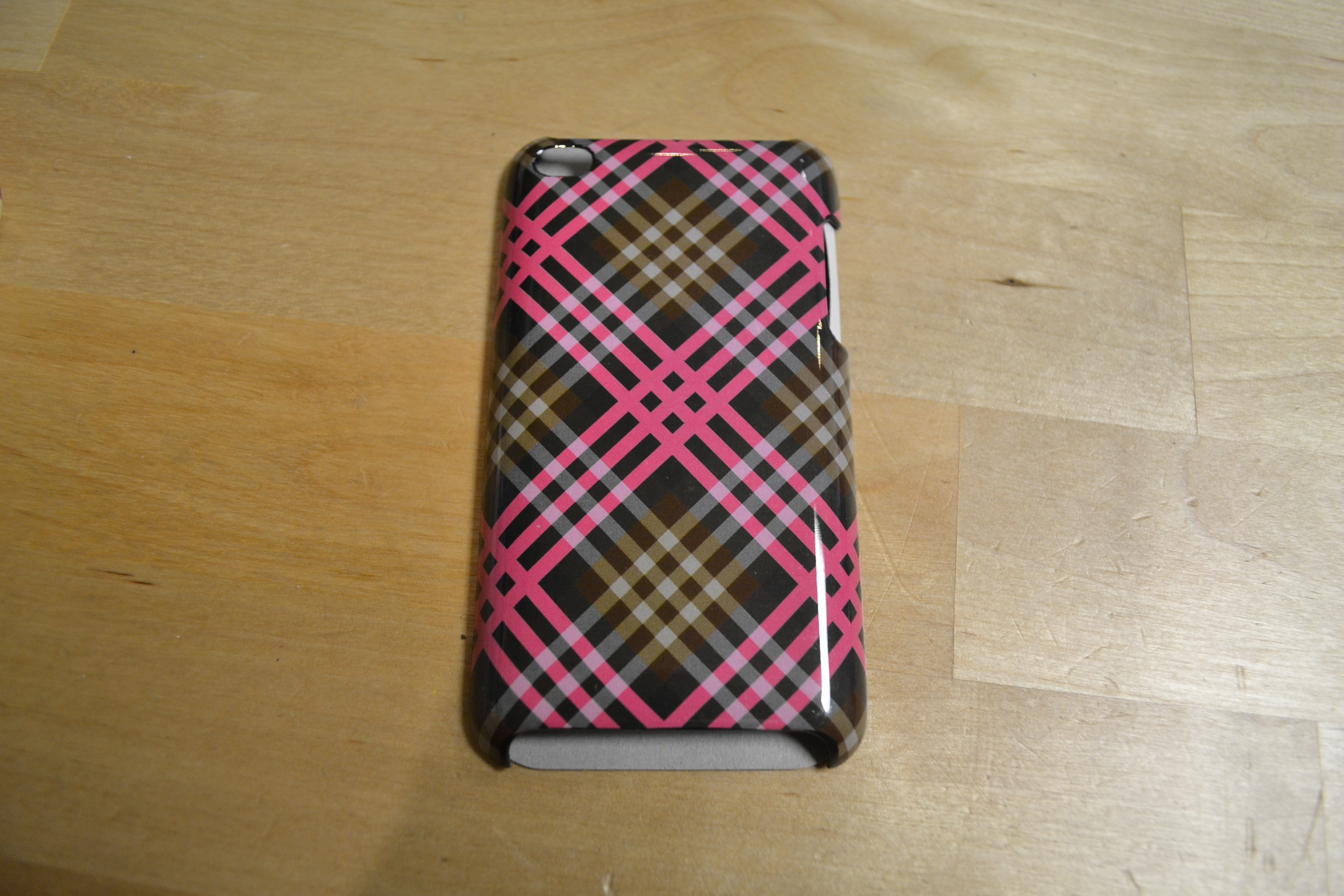 iPod Touch 4G Coco Plaid Hardshell Case By Fashion Nation Fitted