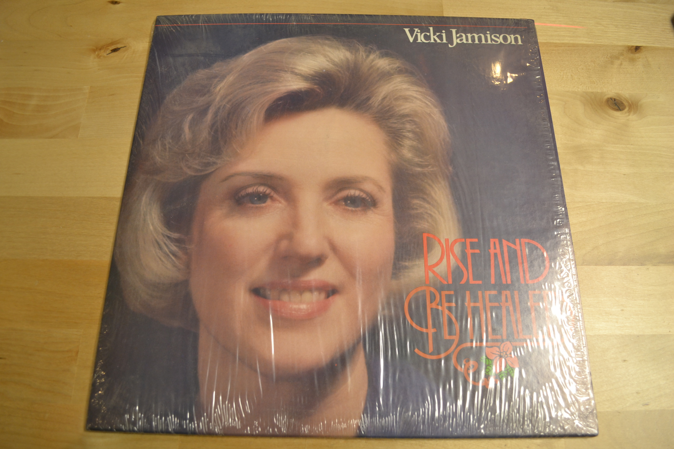 Rise And Be Healed On Vinyl Record Lp
