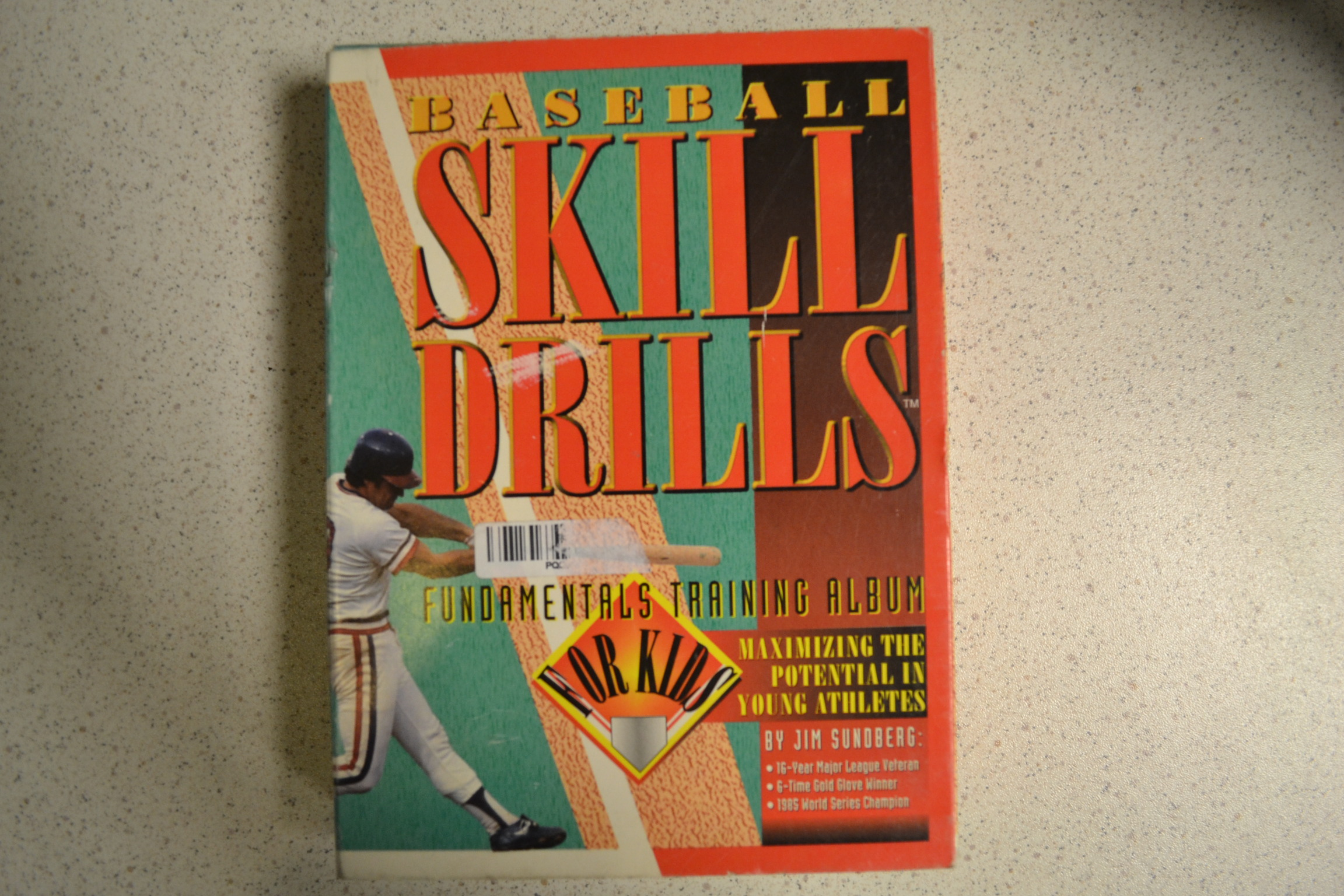 Baseball Skill Drills Video For Kids Video Tape On VHS