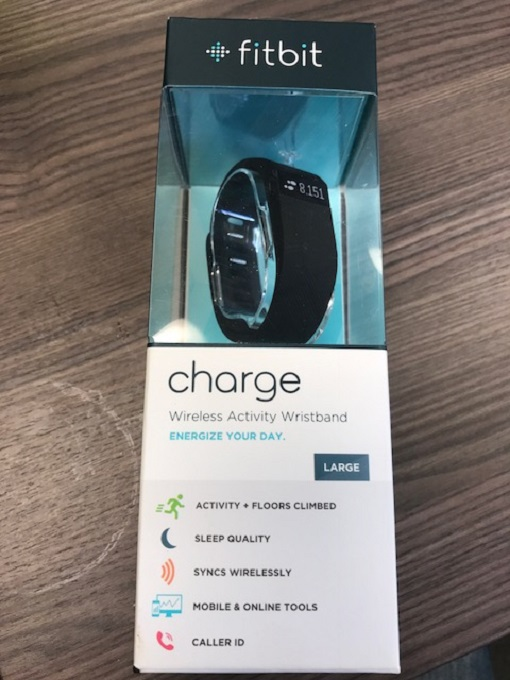 Fitbit Charge Wireless Activity Wristband Black Large CTC091