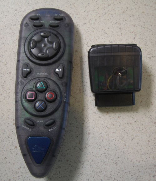 Image 0 of Pelican PL609 Wireless DVD Remote II For PS2 For PlayStation 2