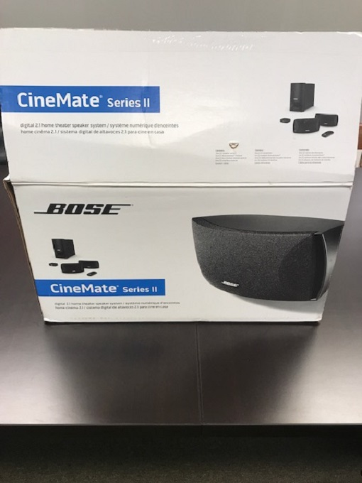Bose Cinemater Series Ll 2.1-channel Home Theater System Digital 5.1 Decoding 3D