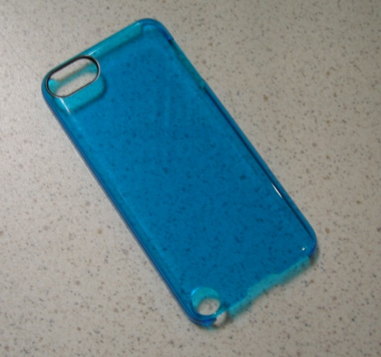 AGENT18 iPod Touch Gen 5 6 7 Clearshield Case Cover Aqua  Blue Fitted