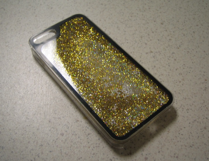 Image 0 of Pilot Electronics Sparkle And Flow iPhone 5 5S SE 5SE Glitter Case