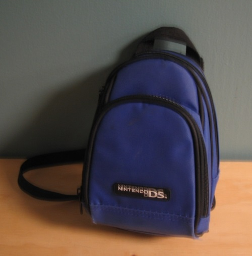 ALS Blue Mini Backpack Case For DS 3DS XL