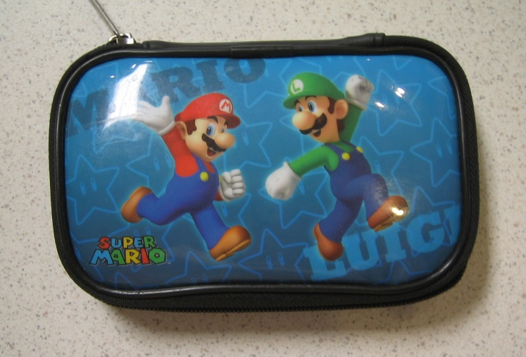 BD&A Character Carry Zippered Case Multi Color Blue Black For DS Multi-Color Gam