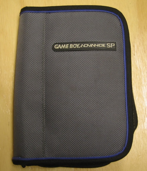 BD&A Universal Game Folio Case Gray With Dark Blue Lining GBA Grey Multi-Color B