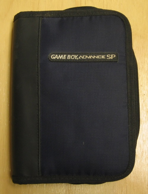 BD&A Universal Nylon Game Folio Case Blue Black GBA Multi-Color Boy Advance For
