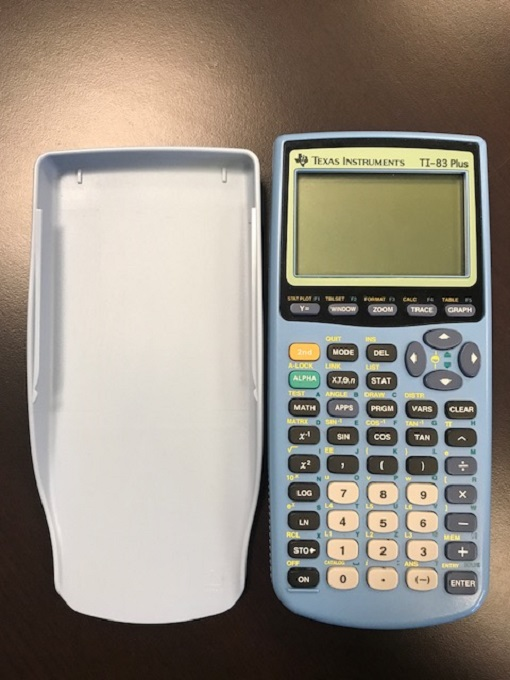 Blue Ti 83 Plus Graphing Calculator TI-83