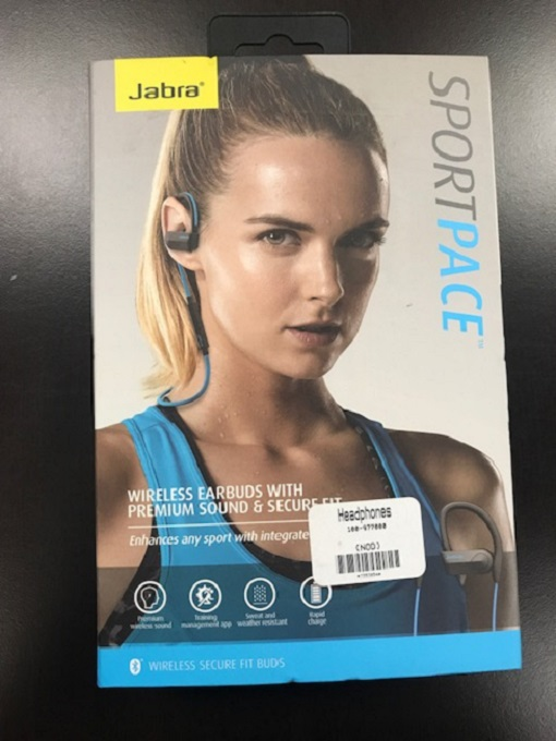 Jabra Sport Pace Wireless Bluetooth Earbuds US Earphones Headphones