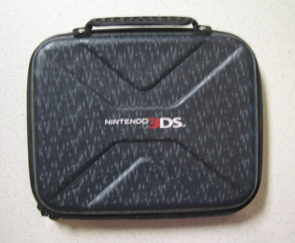 BD&A Excursion Travel Carry Case Black Game 3DS For DS