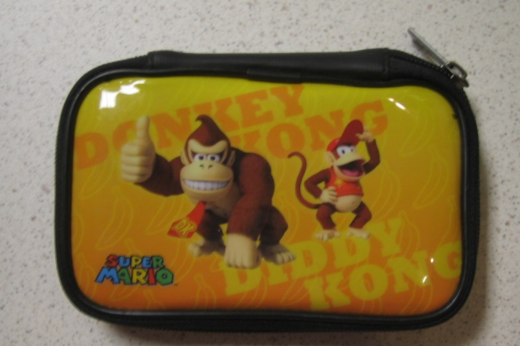 BD&A Character Essentials Case Donkey Kong Diddy Kong Yellow Game For DS