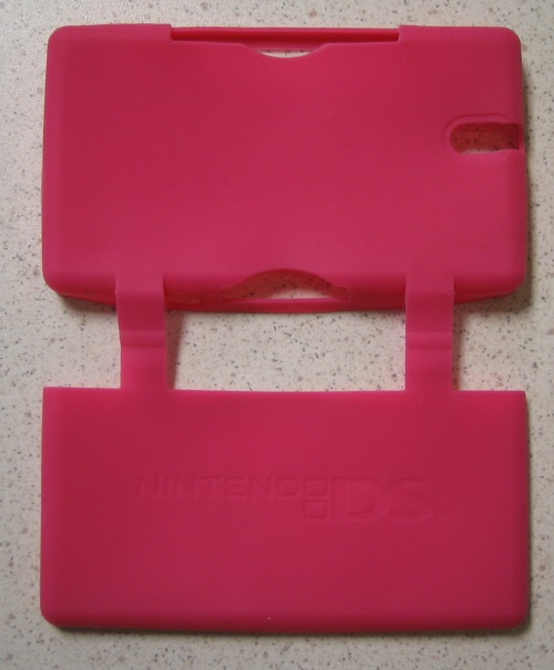 Generic Silicone Protective Shell Pink Lite For DS