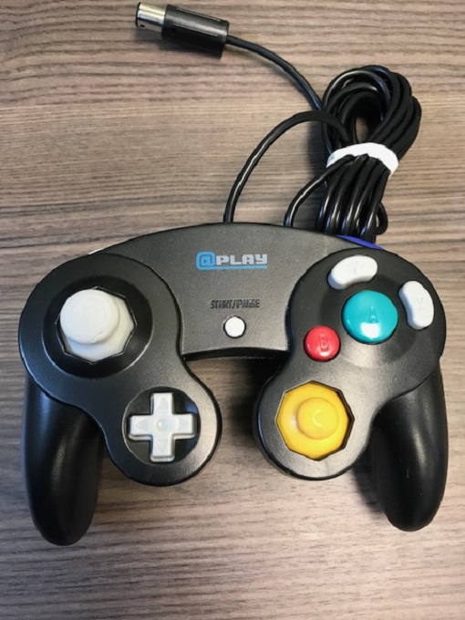 Aplay Wired Controller Black For GameCube Gamepad NTO694