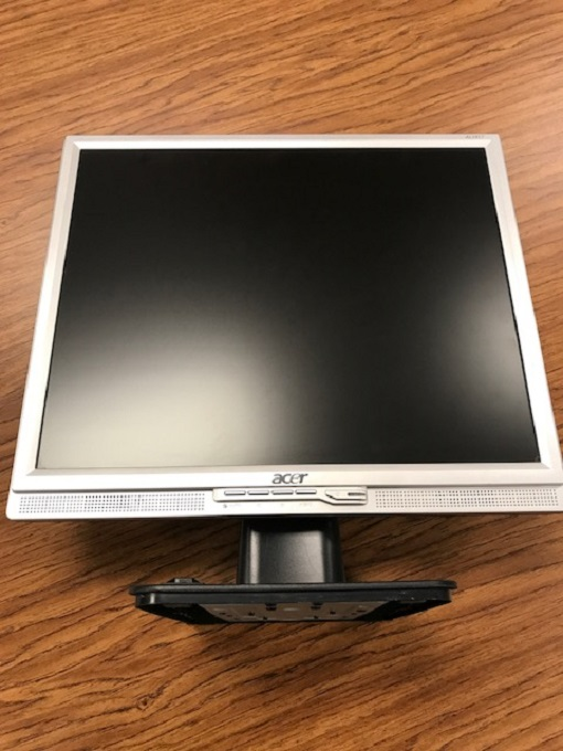 Acer AL1917 19 Inch LCD Monitor Silver