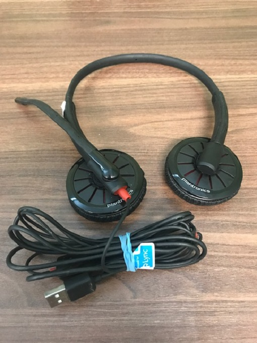 Plantronics 204446-01 Blackwire C325-M Headset WXU161