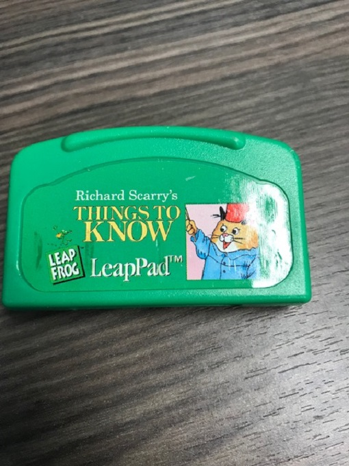 Richard Scarry's Things To Know For Leap Frog LeapPad