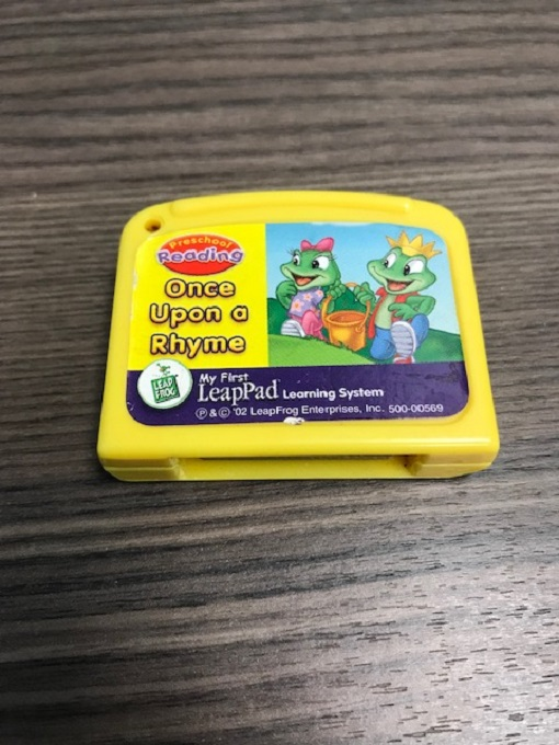 Once Upon A Rhyme For Leap Frog LeapPad
