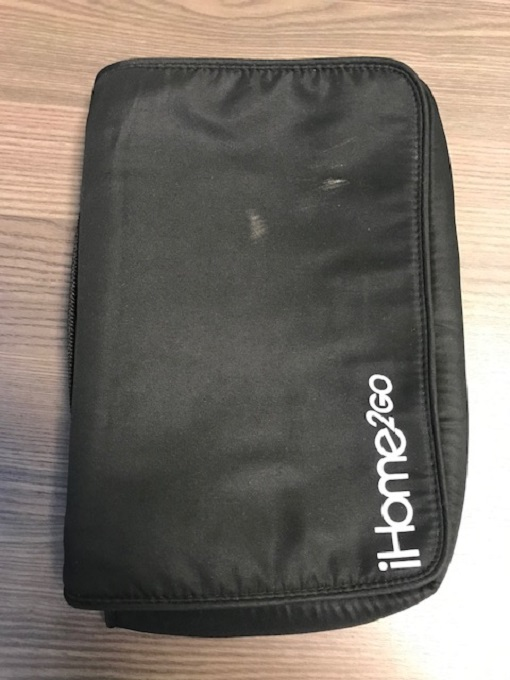 IHOME2GO Tablet Soft Carrying Case Cover Black Sleeve/Pouch QGJ153
