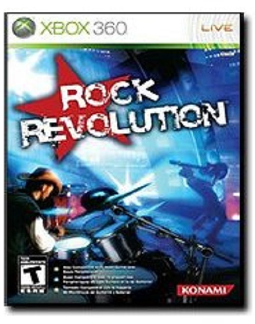 Konami Rock Revolution Xbox 360 Musical Games For Xbox 360