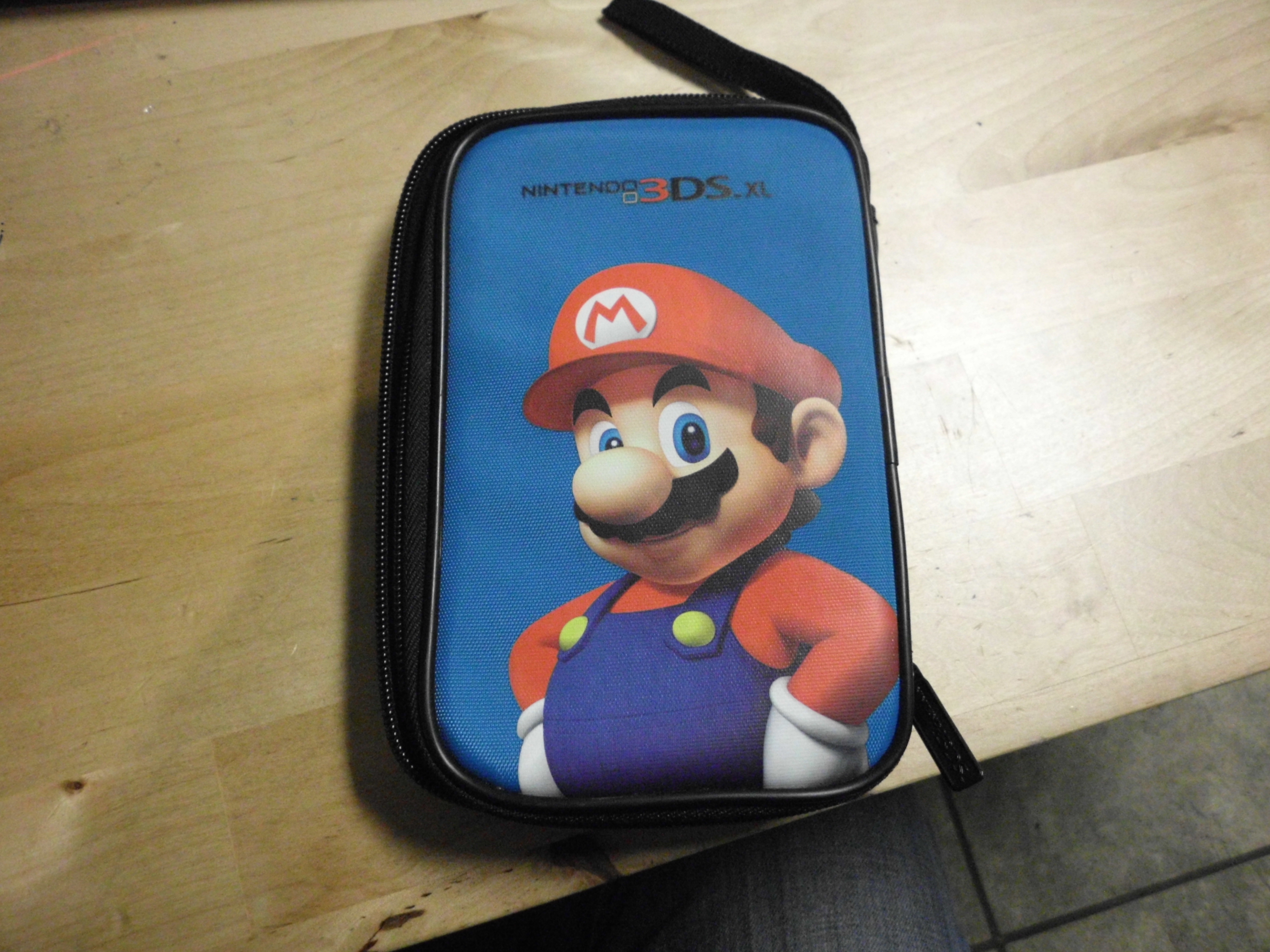 Image 0 of Nintendo 3DS XL Mario Carrying Case Blue