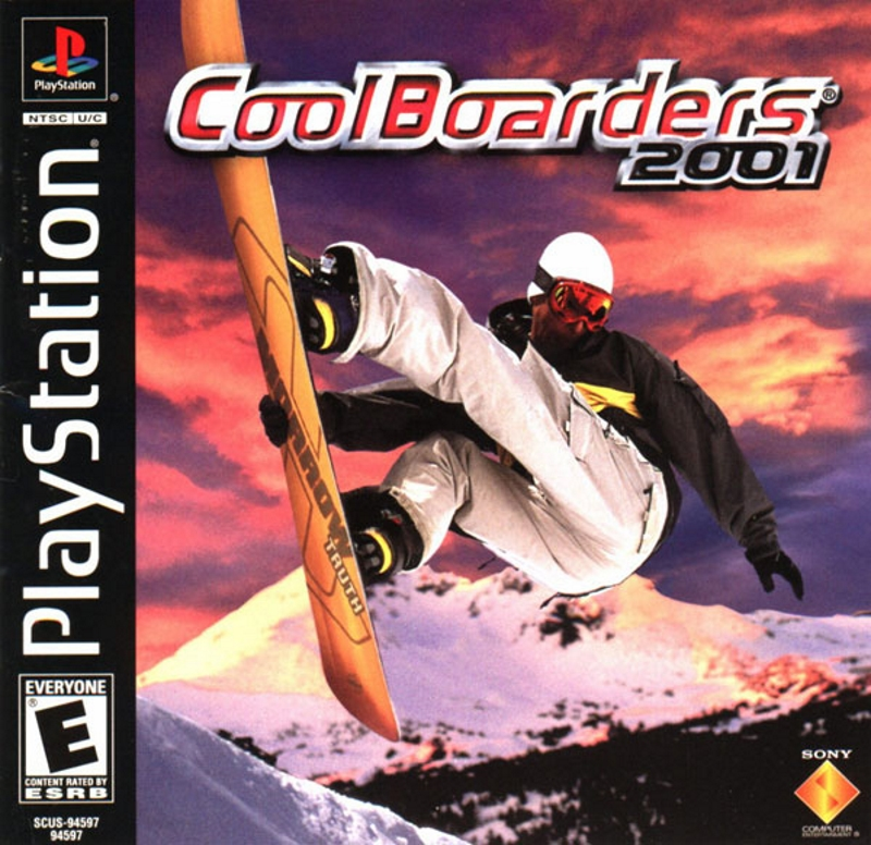Image 0 of Cool Boarders 2001 For PlayStation 1 PS1 Extreme Sports