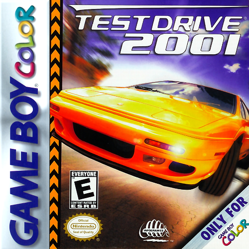 Test Drive 2001 On Gameboy Color Racing